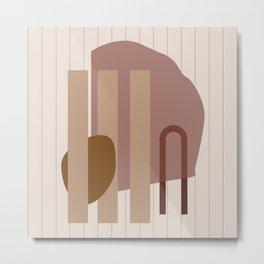 // Shape study #25 Metal Print