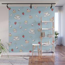 Afternoon Tea - Pretty Pattern Wall Mural
