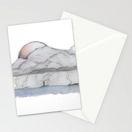 Thunder and lighthouse Stationery Cards