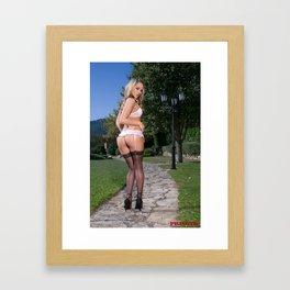 Stockings Framed Art Print