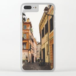 Streets of Italy Clear iPhone Case