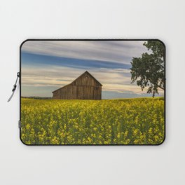 Dazzling Canola in Bloom Laptop Sleeve