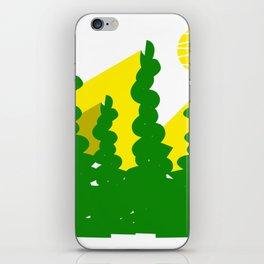 Sun light through the trees  #society6 #decor #buyart #artprint iPhone Skin