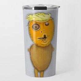 Orange Voodoo Doll Travel Mug