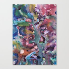 Nature Abstraction Canvas Print