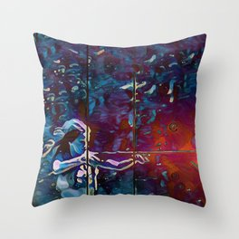 Boomstick Throw Pillow