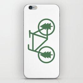 Pacific Northwest Cycling - Bike, Bicycle, Portland, PDX, Seattle, Washington, Oregon, Portlandia iPhone Skin