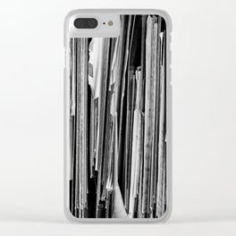 Forgotten Memories Clear iPhone Case