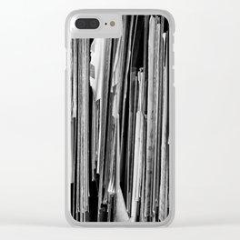 Forgotten Memories Clear iPhone Case
