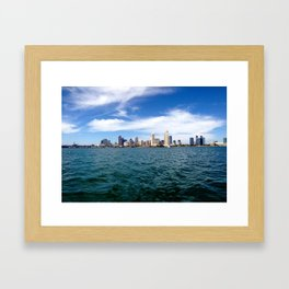 Downtown San Diego Framed Art Print