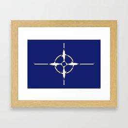 Shark NATO Framed Art Print
