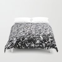 ice Duvet Covers featuring Ice by Stevyn Llewellyn