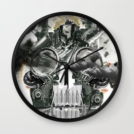 The end is death Wall Clock