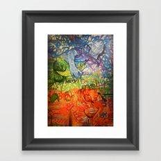 Legendary Deejays Framed Art Print