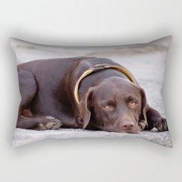 the hound dog Rectangular Pillow