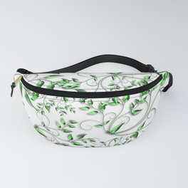 PALM LEAFY GREEN LEAVES Fanny Pack