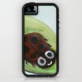Cheerful Ladybug iPhone Case