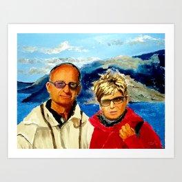 Lora and Alex Art Print