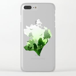 Green Bears Clear iPhone Case