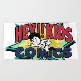 HEY!! KIDS COMICS Beach Towel