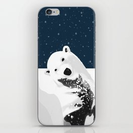 Unique Polar Bear Scene iPhone Skin
