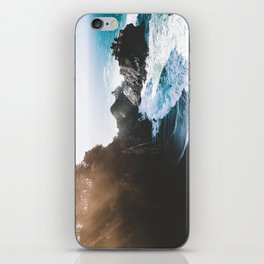 ocean falaise iPhone Skin