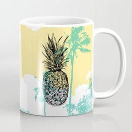 Pineapple print Coffee Mug
