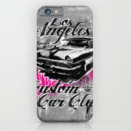 L.A. Custom Car Club iPhone Case