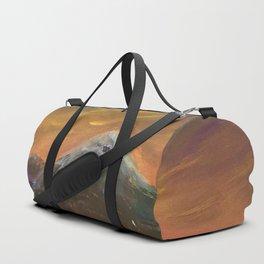 Sunset Mountains Duffle Bag