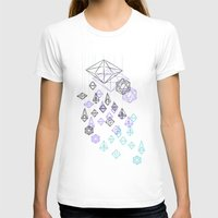 crystals T-shirts featuring crystals by Sil-la Lopez