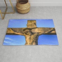 Jesus Statue Rug