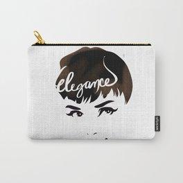 Bombshell Series: Elegance - Audrey Hepburn Carry-All Pouch