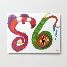 S6 Monsters (S6 Tee) Metal Print