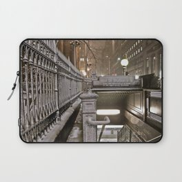 Wall Street - Snow - New York Photography  Laptop Sleeve