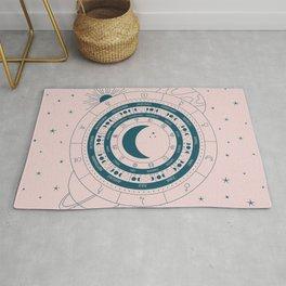 Lunar Calendar 2021 Blush Rug