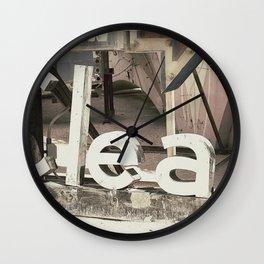 Clean Wall Clock