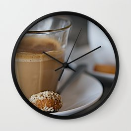 CoffeeCups Wall Clock