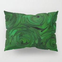 Emerald Green Roses Pillow Sham