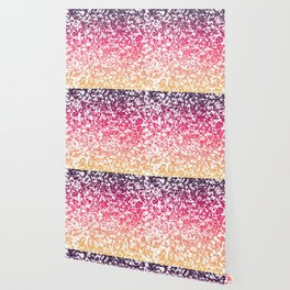 Terrazzo in pink, purple and yellow colors Wallpaper