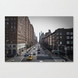 "The Highline ""Lightspeed Effect"" Canvas Print"