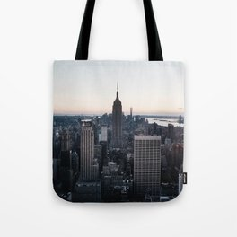 The, New York City Tote Bag