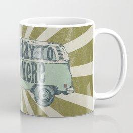 On My Way To Everywhere Coffee Mug