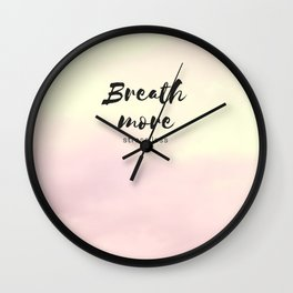 more and less Wall Clock
