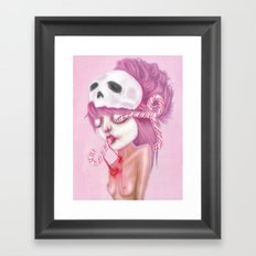 Bleeding to Pieces Framed Art Print