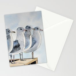 Group of Seagulls Stationery Cards