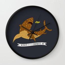 I wonder if it remembers me - The Life Aquatic Wall Clock