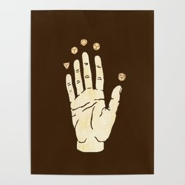 magick hand Poster