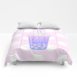 Gamer Bubble Tea Comforters