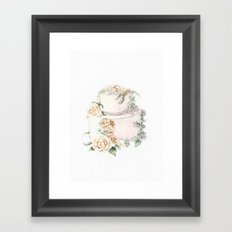Wedding Cake Framed Art Print