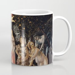 La Primavera - Allegory Of Spring - Sandro Botticelli Coffee Mug
